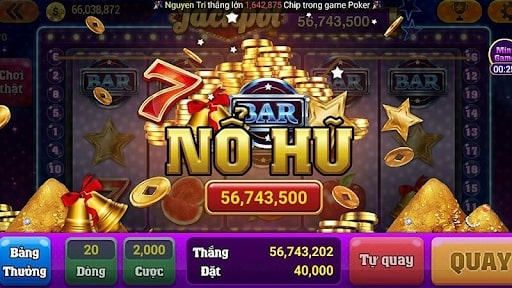 Giao diện game bắt mắt
